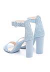 Niebieskie Sandały Upscale