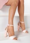 Różowe Sandały Bones