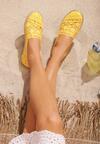 Żółte Espadryle Satisfyingly