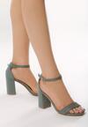 Zielone Sandały Preach