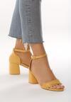 Żółte Sandały Byplay