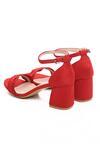 Czerwone Sandały Byplay