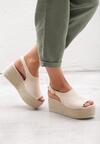 Beżowe Sandały Undisputable