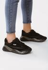 Czarne Sneakersy Dauntlessly