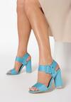 Niebieskie Sandały Sardonic