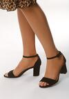 Czarne Sandały Principled
