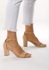Beżowe Sandały Quicktempered