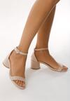 Beżowe Sandały Undisguised