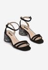 Czarne Sandały In Harmony