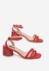 Czerwone Sandały In Harmony