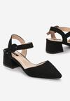 Czarne Sandały Nonfeeling