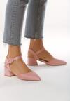 Różowe Sandały Nonfeeling