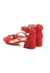 Czerwone Sandały Hot Tempered