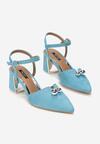 Niebieskie Sandały Circumstantiated