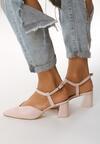 Różowe Sandały Upfront