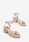 Beżowe Sandały Incontestable