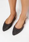 Czarne Sandały Aboveboard