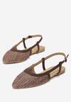 Brązowe Sandały Aboveboard