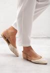 Beżowe Sandały Aboveboard