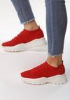 Czerwone Sneakersy Bewray
