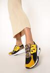 Żółte Sneakersy Livesey