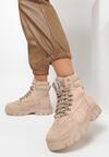 Beżowe Sneakersy Celestial Pole