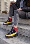 Czarno-Żółte Sneakersy Cadastre