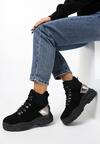 Czarne Sneakersy Alternatywka