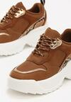 Camelowe Sneakersy Jazmin