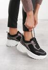 Czarne Sneakersy Jazmin