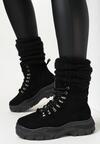 Czarne Sneakersy Celestial Poles