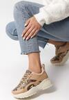 Beżowe Sneakersy Trindade