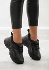 Czarne Wężowe Sneakersy Trindade