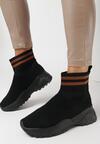 Czarno-Brązowe Sneakersy Breves