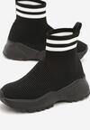 Czarne Sneakersy Breves