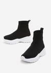 Czarno-Białe Sneakersy Dunning