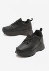 Czarne Sneakersy Caieiras