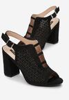 Czarne Sandały Pethice