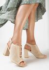 Beżowe Sandały Pethice