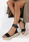 Czarne Sandały Physixia