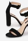 Czarne Sandały Mccoy