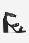 Czarne Sandały Meligenia
