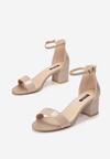 Beżowe Sandały Aglaothilei