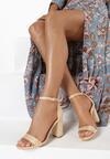 Beżowe Sandały Adredah