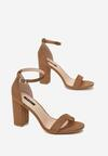 Brązowe Sandały Adredah