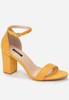 Żółte Sandały Adredah