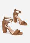 Brązowe Sandały Sabriphite