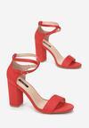 Czerwone Sandały Sabriphite