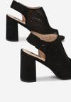 Czarne Sandały Aetheriko