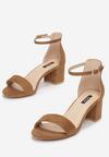 Brązowe Sandały Loreria